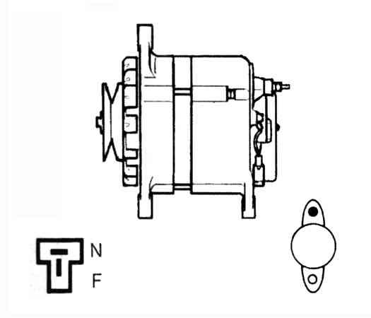 Hitachi alternator diagram